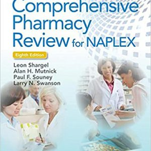 Comprehensive Pharmacy Review For NAPLEX | مجموعه کتاب آزمون نپلکس : شارگل