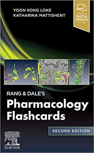 Rang & Dale's Pharmacology Flash Cards | فلش کارت فارماکولوژی رنگ و دیل