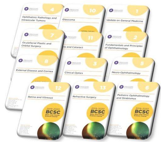 BCSC 2019-2020: Basic and Clinical Science Course   سری کامل کتاب آکادمی چشم پزشکی - 13 جلد