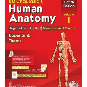 Chaurasia's Human Anatomy – Volume 1: Regional And Applied Dissection | آناتومی چوراسیا ۲۰۱۹