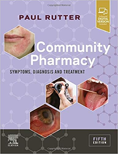 Community Pharmacy: Symptoms, Diagnosis and Treatment 2020 | کتاب نشانه های بالینی، تشخیص و درمان در داروخانه