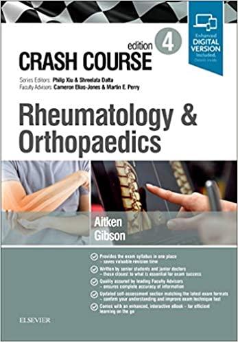 Crash Course Rheumatology and Orthopaedics - 2019