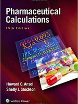 Pharmaceutical Calculations 15th Edition | کتاب محاسبات دارویی