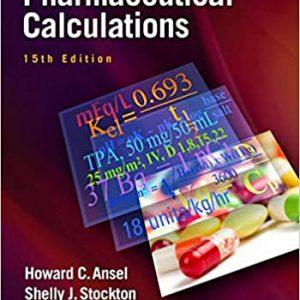 Pharmaceutical Calculations 15th Edition   کتاب محاسبات دارویی