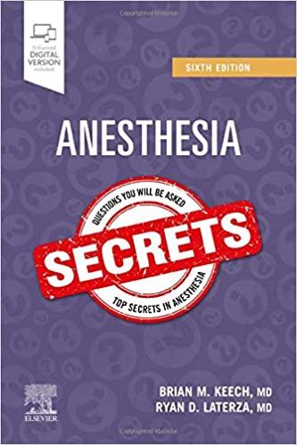 Anesthesia Secrets 6th Edition 2020 - کتاب افست بیهوشی سکرت از نشر اشراقیه