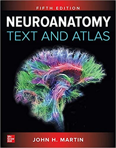 کتاب اطلس نوروآناتومی - Neuroanatomy text atlas 2020