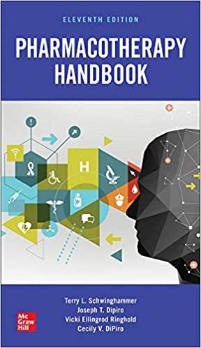 Dipiro - Pharmacotherapy Handbook 11th Edition | هندبوک فارماکوتراپی دیپیرو 2021