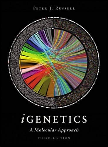 iGenetics: A Molecular Approach 3rd Edition