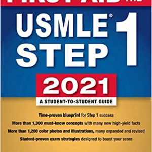 First Aid For The USMLE Step 1 2021 | کتاب کاپلان فرست اید