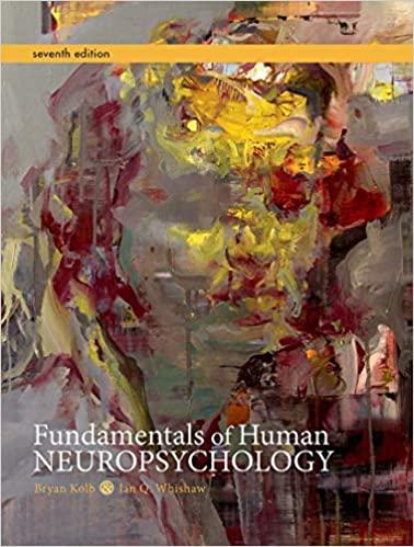 Fundamentals of Human Neuropsychology | 7th edition