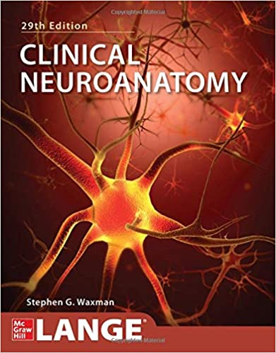 کتاب نوروآناتومی بالینی - واکسمن - Stephen Waxman - clinical neuroanatomy - نشر اشراقیه
