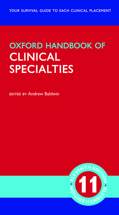 Oxford Handbook of Clinical Specialties 2021 - 11th Edition - هندبوک پزشکی آکسفورد 2021