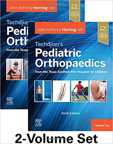 Tachdjian's Pediatric Orthopaedics 2020 - ارتوپدی اطفال تاچیان