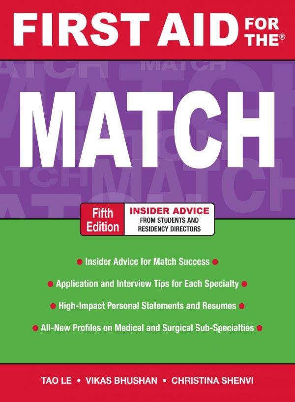 کتاب افست کتاب افست زبان اصلی First Aid for the Match 5th 2020