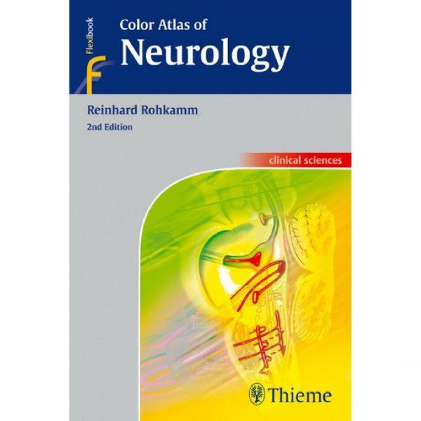 Color Atlas of Neurology - اطلس رنگی تیمه نورولوژی