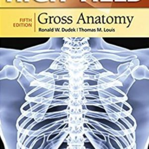 High-Yield Gross Anatomy 5th Edition | 2014