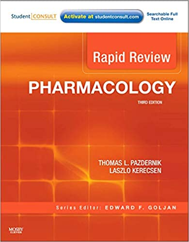 Rapid Review Pharmacology - 3rd Edition | Goljan