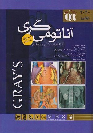 QR - خلاصه کتاب آناتومی گری برای دانشجویان 2020 | دکتر شیرازی - اندیشه رفیع