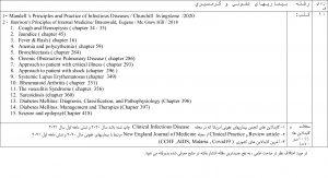 منابع آزمون های ارتقا-گواهینامه و دانشنامه تخصصی 1400